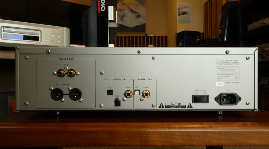 LUXMAN D-05u