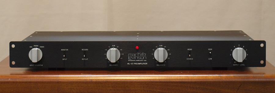 マークレビンソン ML-10